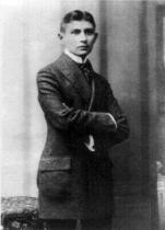 Franz Kafka v roce 1906