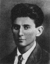 Franz Kafka v roce 1917