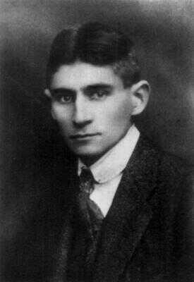 Franz Kafka v roce 1920