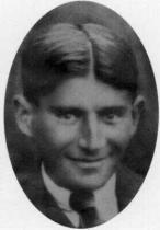 Franz Kafka v roce 1921