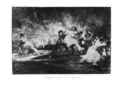 41. Utíkají skrz plameny