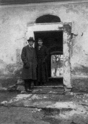 Kafka s Ottlou v Siřemi, 1918