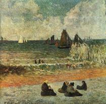 Pláž v Dieppe