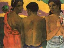 Tři tahiťané