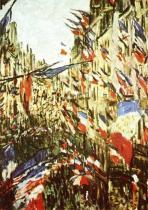 Vlajkosláva v ulici Montorgueil
