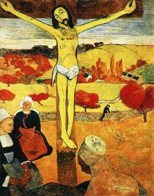 Žlutý Kristus