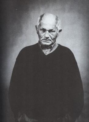 Bohumil Hrabal v Českém Krumlově, 1983