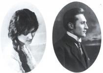 Rodiče Bohumila Hrabala, Marie a František