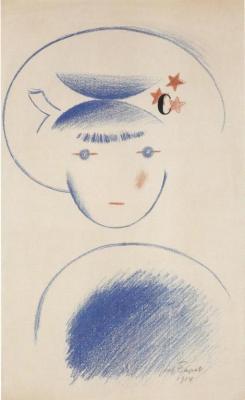 Hlava děvčátka (1914)
