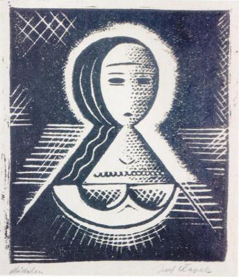 Ženská hlava (1915)