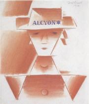 """Hlava dívky """"Alcyon"""" (1917)"""