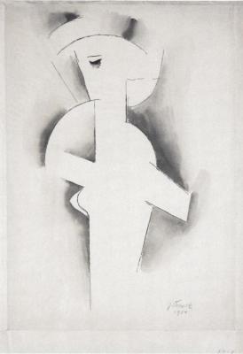Dívčí akt (1914)