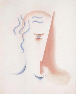 Hlava ženy (1915)