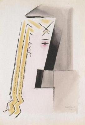 Dívčí hlava (1917)