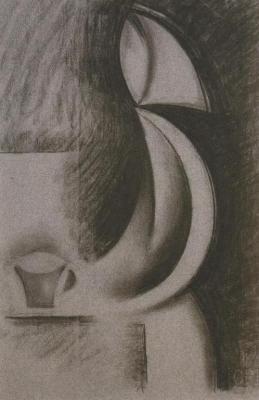 Žena s hrnkem (1916-1917)