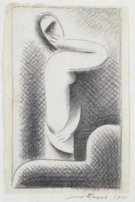 Žena před zrcadlem (1916)