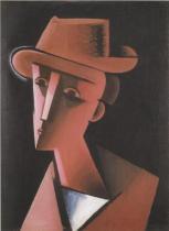Chlapec v měkkém klobouku (1915)