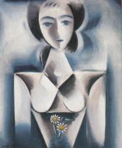 Děvče s kopretinou (1914)