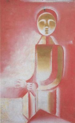 Chlapec se svítilnou (1916-1917)