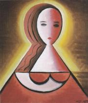 Mladá žena (1915)