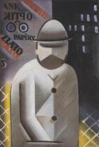 Muž s plnovousem (1915-1917)