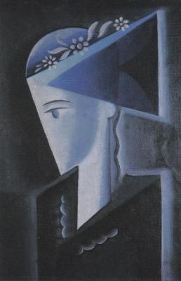 Hlava dívky (1917)