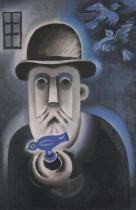 Prodavač kohoutků (1917)