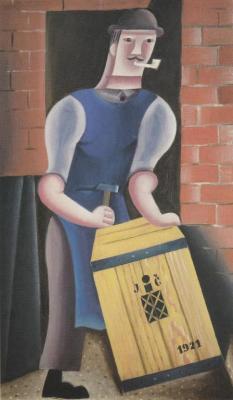 Muž s bednou (1921)
