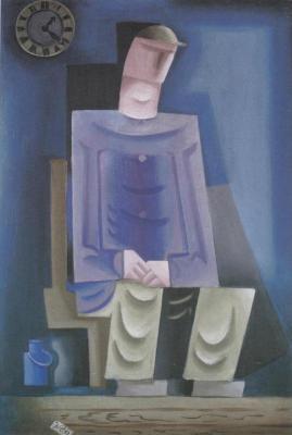 Sedící muž (1923)