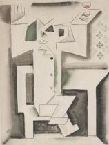 Sedící piják (1920)