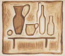 Dva džbány a lahve (1920-1923)