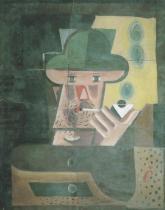 Muž s dýmkou (1920)