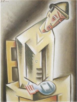 Muž s bolavou rukou (1919)