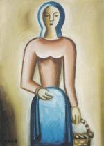 Děvče s košem (1923)