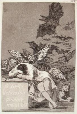 43. Spánek vzdělance vytváří monstra