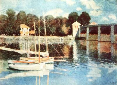 Železniční most u Argenteuil