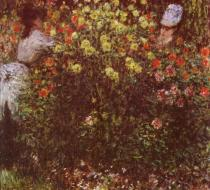 Dámy v květinách