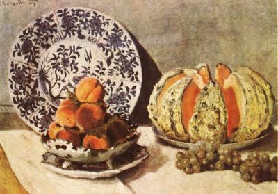 Zátiší s ovocem