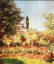 Zahrada v květu