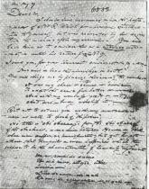 Dopis nakladateli objasňující smysl básně Al Aaraaf