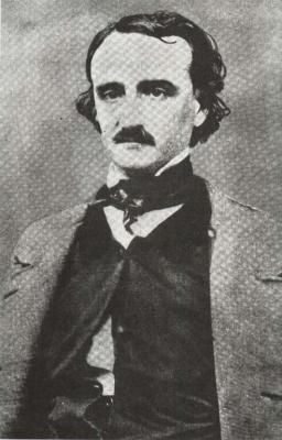 Edgar Allan Poe v roce 1848