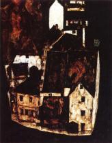 Egon Schiele: Mrtvé město, 1911