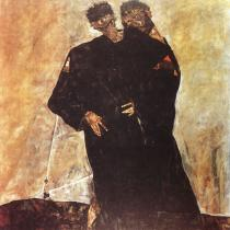 Egon Schiele: Eremité, 1912