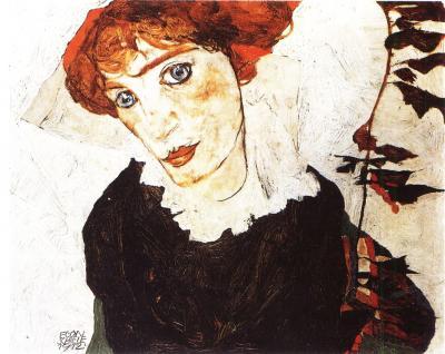 Egon Schiele: Portrét Wally, 1912