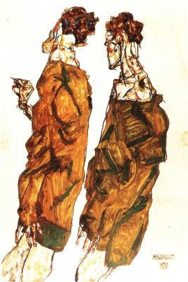 Egon Schiele: Pobožnost, 1913