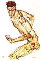 Egon Schiele: Bojovník, 1915