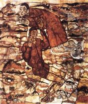 Egon Schiele: Levitace, 1915