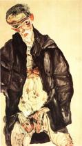 Egon Schiele: Masturbace, 1911