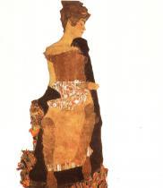 Egon Schiele: Portrét Gerti Schielové, 1909