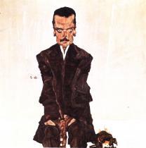 Egon Schiele: Eduard Kosmack, 1910